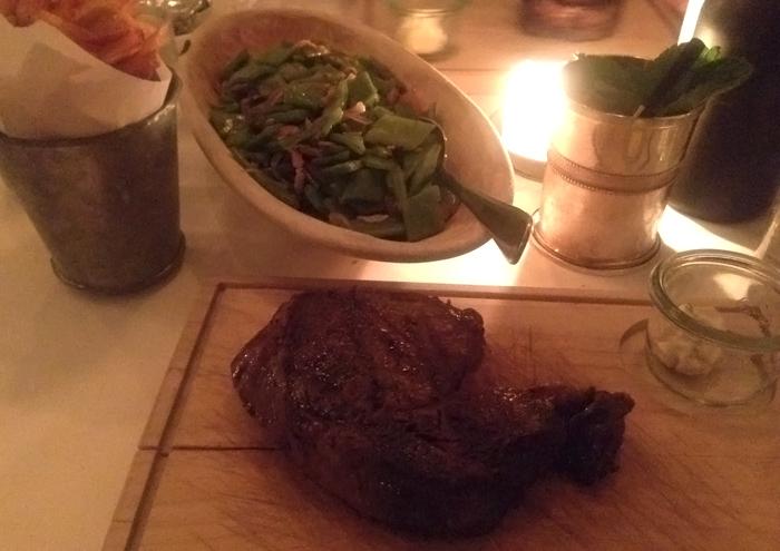 Steak im Restaurant Theresa
