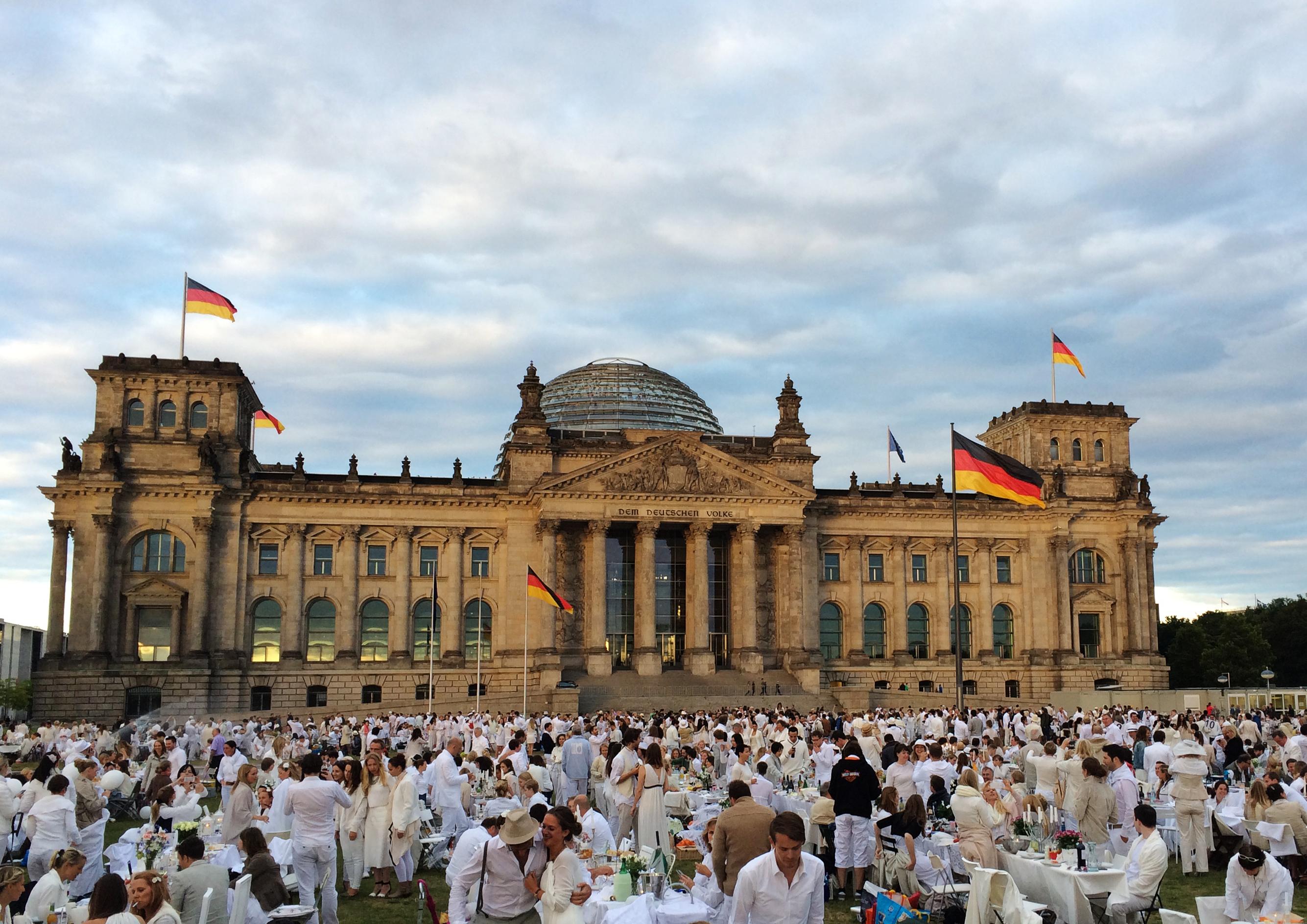 Diner en blanc 2014 – der Rückblick