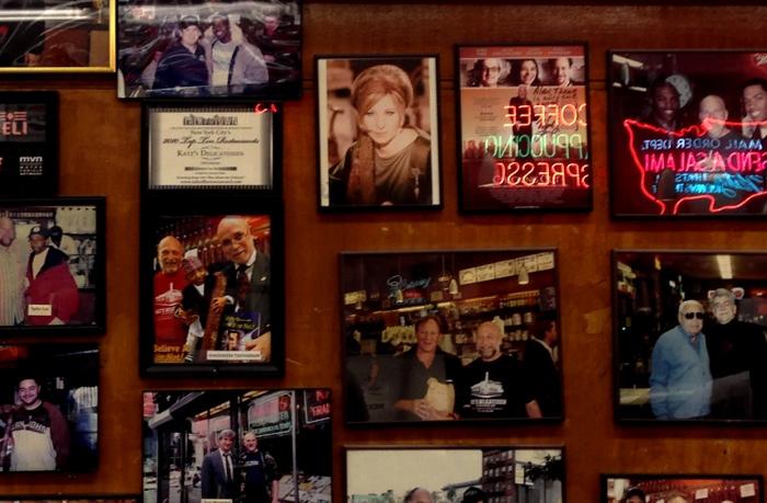 Katz's Wall of Fame