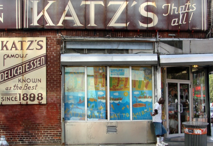 Katz's Deli eröffnete hier 1910.