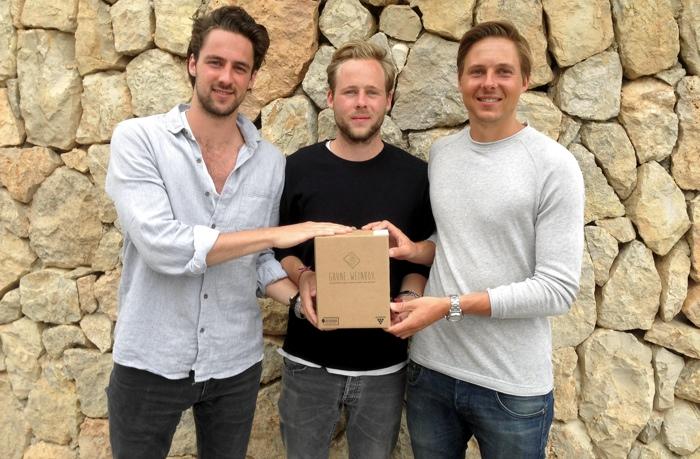 Philip, Lukas und Tim