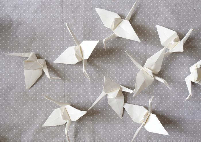 Wenn ich ein Vöglein wär – Origami Kranich falten