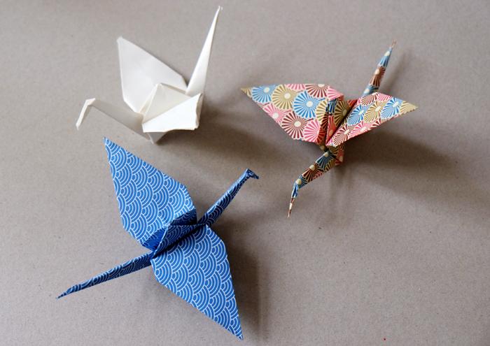 Wenn Ich Ein Vöglein Wär Origami Kranich Falten Fraeuleinchen