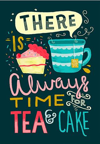Tea & Cake Poster