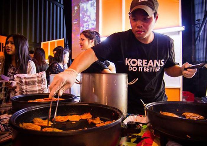 Pojangmacha - koreanisches Streetfood