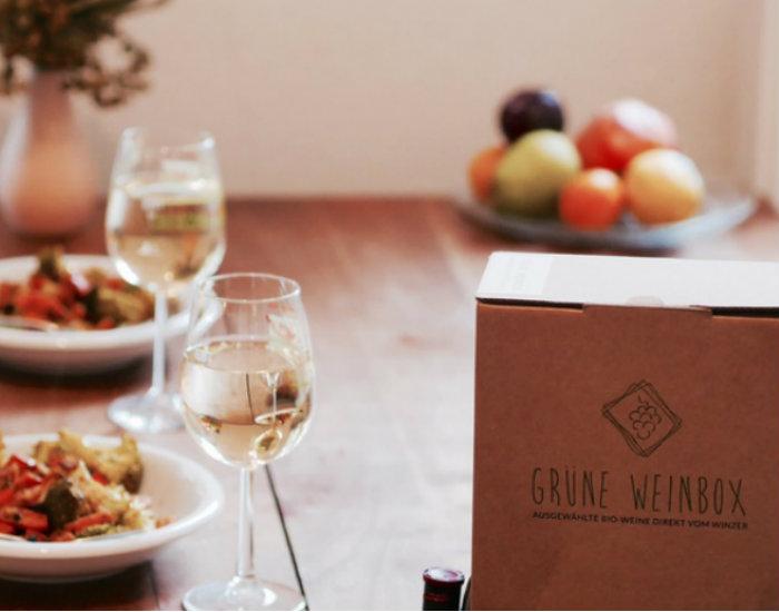 Unterstützt die Grüne Weinbox – den gesunden Wein aus der Box!