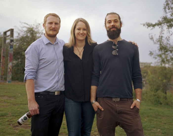 Das Gründerteam: Michael, Katharina und Christian
