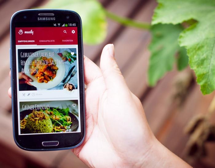 mealy – die neue App mit Food-Blogger-Rezepten