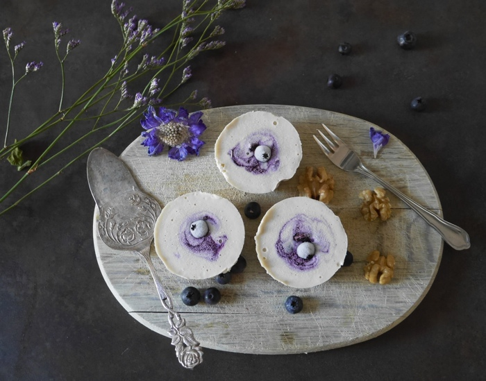 Sonntagsgericht: Süße Sünde mit laktosefreiem Mini-Käsekuchen