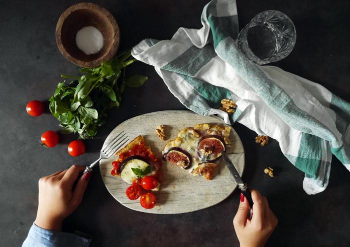 Sonntagsgericht: Glutenfreie Gemüse-Pizza