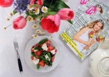 Sonntagsgericht: Knackiger Frühlingssalat mit Erdbeeren