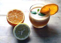 Gesund und lecker: Orangensaft-Ingwer-Smoothie