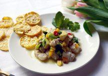 Sonntagsgericht – Wasabi-Ceviche aus Alaska Seelachs