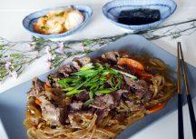 Sonntagsgericht – Bulgogi (mariniertes Rindfleisch) mit Glasnudeln
