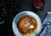 Sonntagsgericht: French Toasts mit Kirschkompott