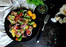 Sonntagsgericht: Panzanella – italienischer Brotsalat