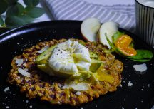 Sonntagsgericht: herzhafte Süßkartoffel-Waffeln zum Frühstück