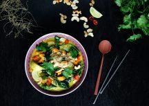 Sonntagsgericht: Vegane Thai Curry Suppe
