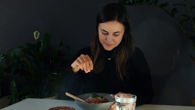 Sonntagsgericht: vegane Spaghetti Bolognese nach Zucker&Jagdwurst