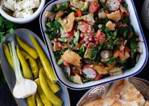 Sonntagsgericht: Fattoush – veganer Salat aus dem Orient