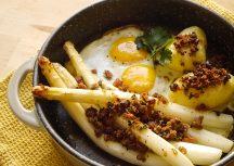 Sonntagsgericht – Bauernfrühstück mit Spargel