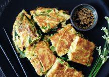Sonntagsgericht: Hobak Jeon – koreanischer Pfannkuchen mit Zucchini