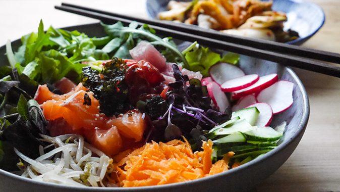 Sonntagsgericht – Hwedopbap, koreanische Sashimi Bowl