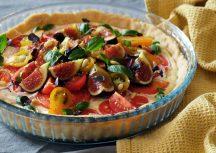 Sonntagsgericht: Vegetarische Tomatentarte mit Ricotta