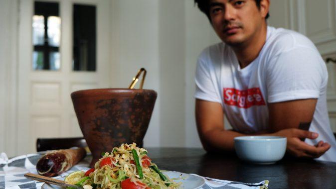 Sonntagsgericht: Thailändischer Papaya-Salat mit Ngoc Duc Nguyen