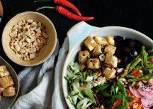 Sonntagsgericht: L.A. Poke inspirierte vegane Bowl mit Tofu