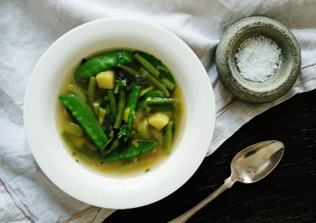 Sonntagsgericht: Schneller Eintopf mit grünem Gemüse