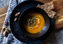 Sonntagsgericht – Süßkartoffel-Kurkuma-Suppe