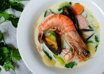 Sonntagsgericht: Bergensk Fiskesuppe – Fischsuppe auf Norwegisch