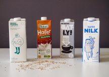 Vegane Milchalternativen aus Hafer im Fraeuleinchen-Test
