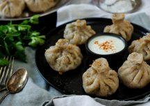 Khinkali – Vegetarisch gefüllte georgische Teigtaschen