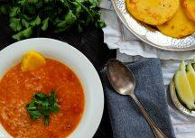 Kharcho Vegetarianuli – Vegetarische Tomatensuppe auf georgisch