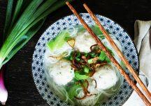 Es kommt Fisch auf den Tisch – Thailändische Fischbällchen mit Suppe