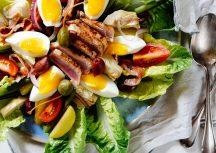 Nizza Salat mit frischem Thunfisch