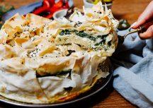 Börek mit Schafskäse und Spinat für das nächste Brunchbuffet